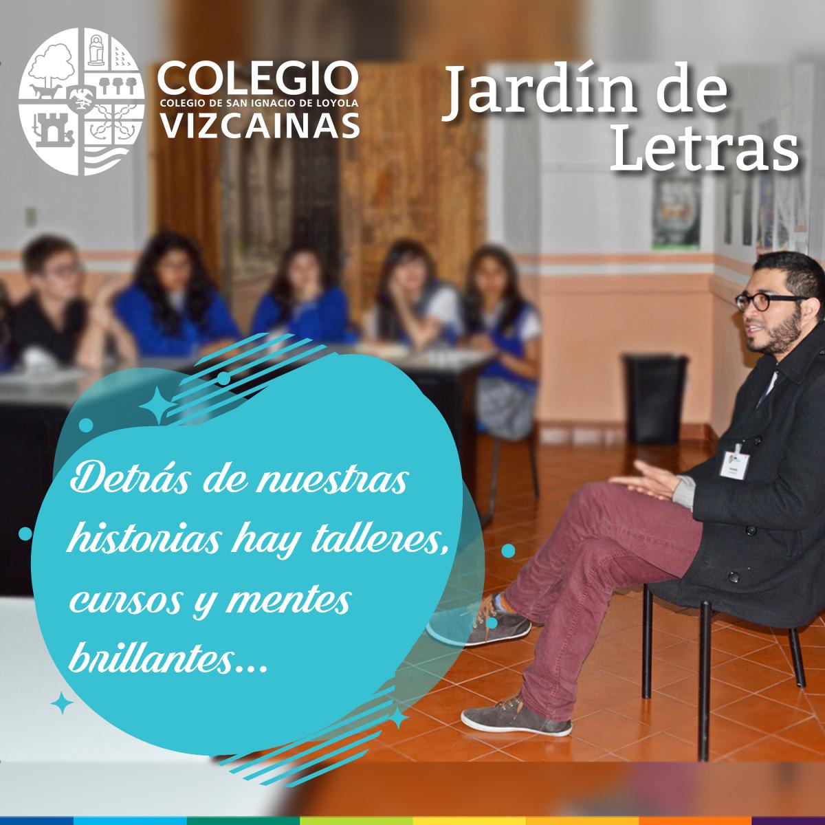Taller de escritura creativa Colegio Vizcaínas