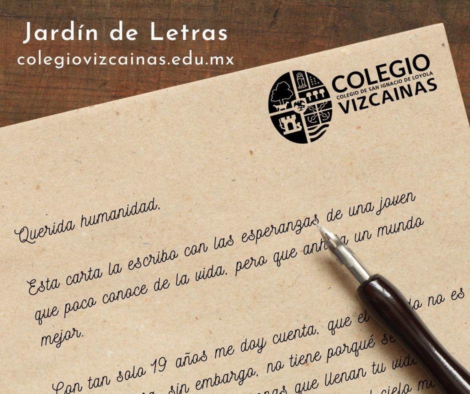 Ilustración de la historia de Jardín de letras del Colegio Vizcainas